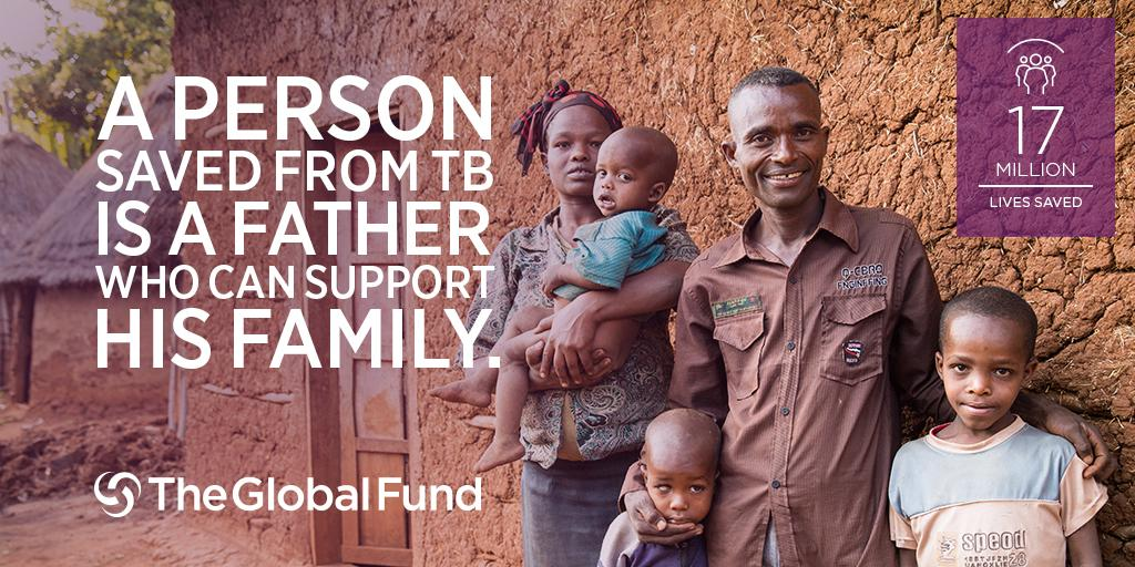A life saved from TB is a father who can return to work and support his family http://t.co/e7RMEI01Ss http://t.co/YadJAfeBvv