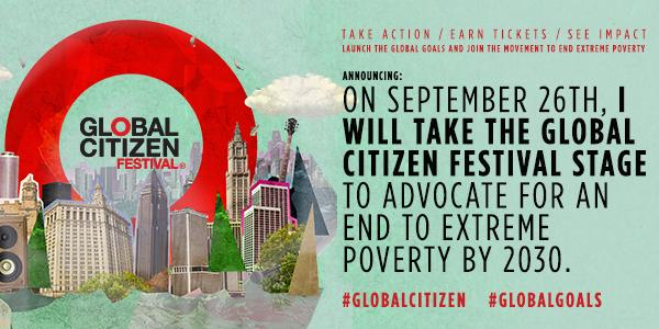 I'll be at #GlobalCitizen to talk about how we can end extreme poverty in 15 yrs http://t.co/KyRD8DStaa #GlobalGoals http://t.co/DwuDD5q1UE