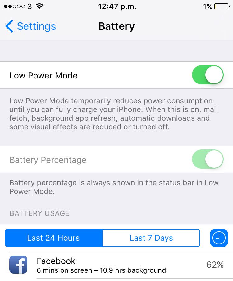 Facebook, not only does your app break AirPlay and Bluetooth audio. You drain battery in the background. NOT COOL http://t.co/1Q6QSgqd3l