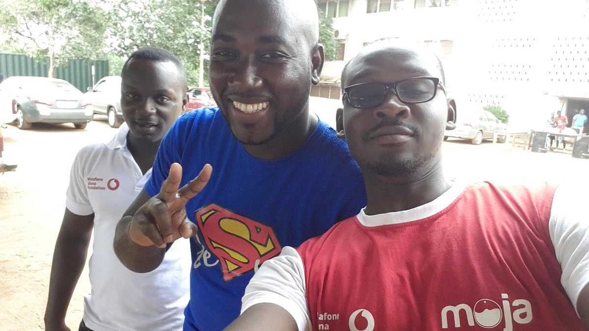 @ahiabor @ahiabor  with some @mojaApp team members @ pantang #NVDay15 #blood donation.Come join! #BelikeNkrumah #lead http://t.co/YXMiV1cfQn