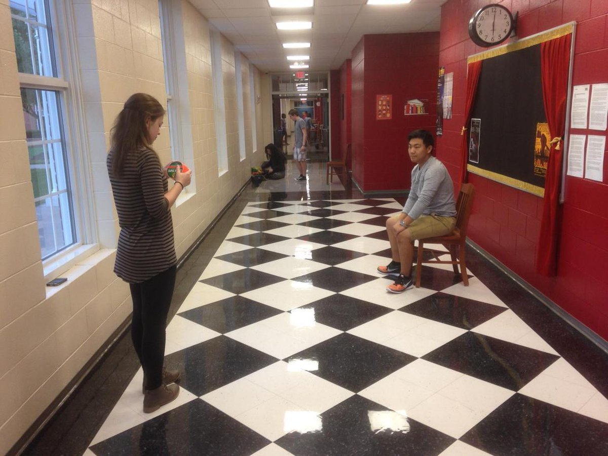Ss rehearsing scenes inspired by Discover magazine articles. #nahscommunity #CelebrateMonday @napls @Dwight_Carter http://t.co/uRTNKIqkT6