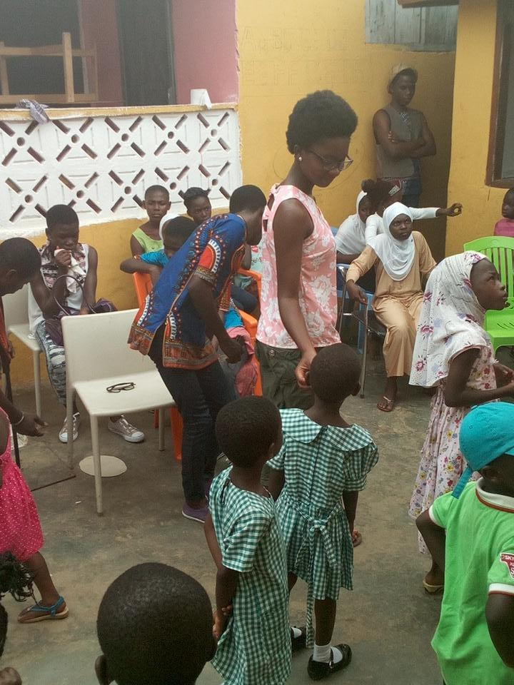 #NVDay15 Mother of All Nations Orphanage -  Madina @naa_ameley_ @Andrewtetteh7 #iDonateGH #Indomie #PapasPizzaGh http://t.co/ucUifGFfus