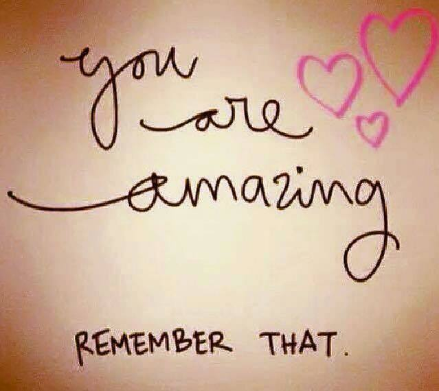 """You Are Amazing Quotes: Transfaith On Twitter: """"You Are Amazing. Remember That"""