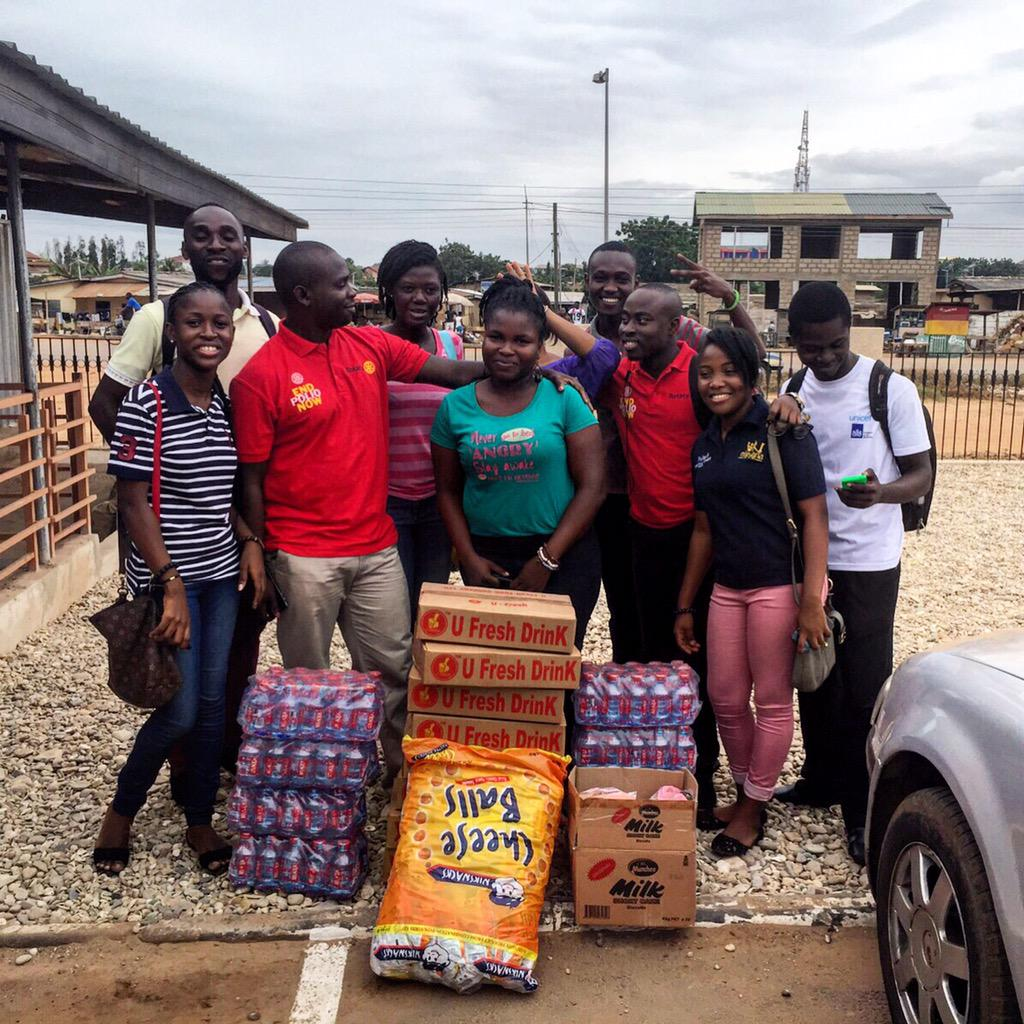 @asrotaract members will be donating some items to the children's ward at the Lekma Hospital. #nvday15 http://t.co/34OORis3Wf