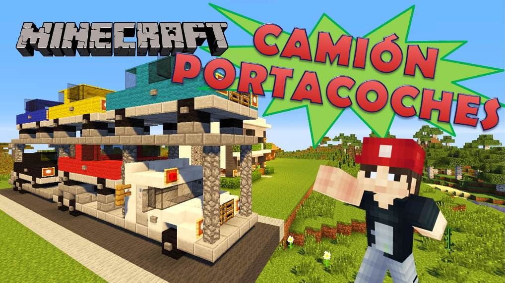 Rey zerch on twitter minecraft cami n portacoches for Casa moderna rey zerch