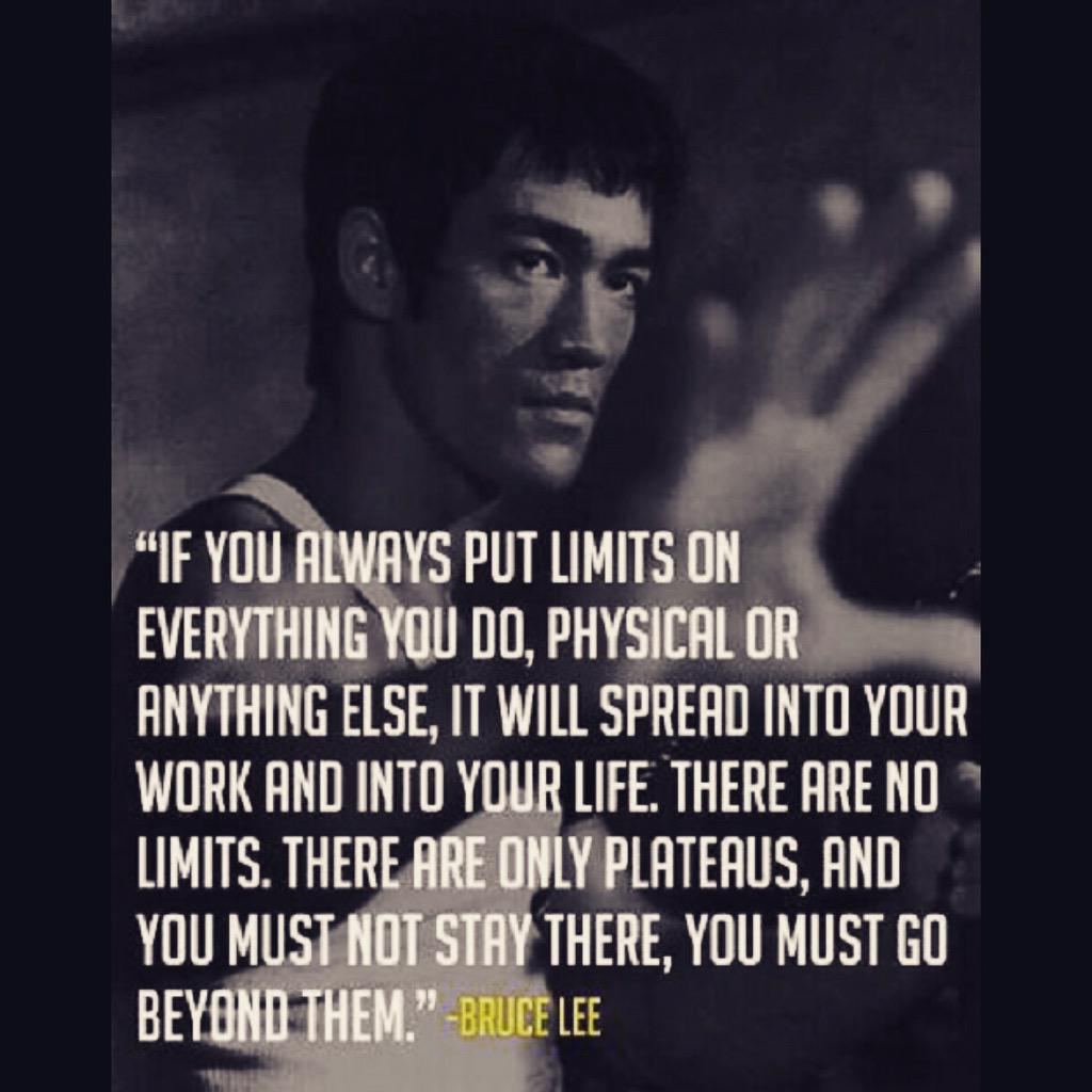 Words to start your week. #BruceLee #Motivation http://t.co/EKCRP1ooVe