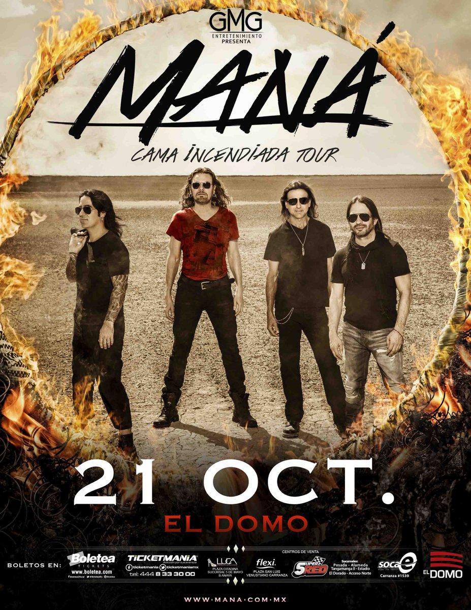 Se acerca el concierto de @manaoficial muy pendientes de la sintonía de xtrema 91.9 fm tendremos promociones los fans http://t.co/uCbUKnHT4h
