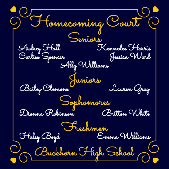 Buckhorn High School Homecoming Week photos