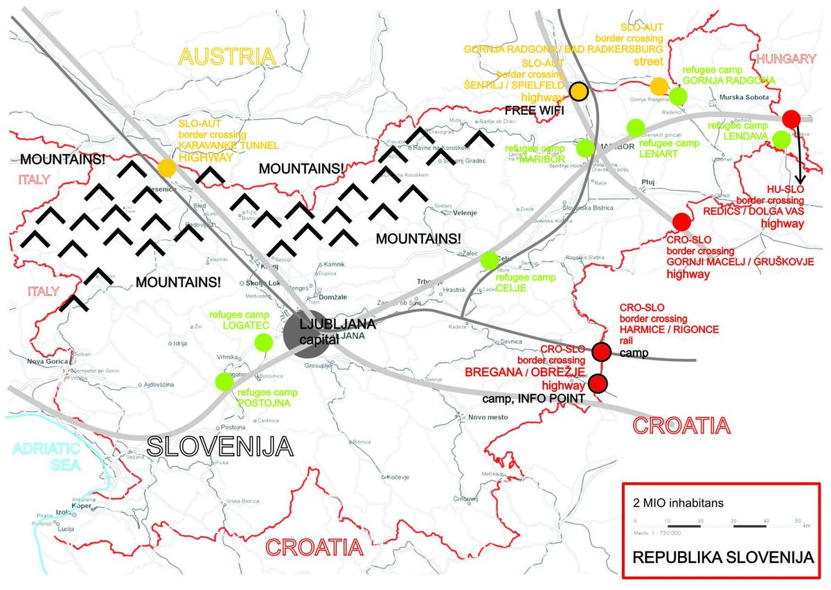 Map of #Slovenia for #refugees. Please, share! #welcome http://t.co/HPNiYTjALo