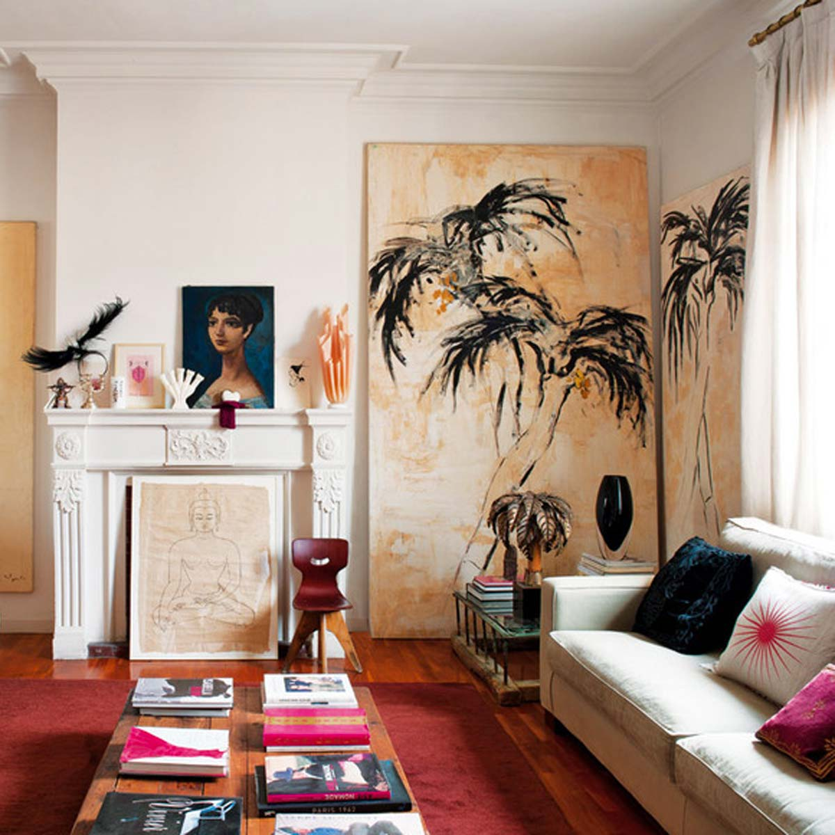 En casa de Lydia Delgado y Miranda Makaroff @mirandamakaroff  #MBFWM15 #FashionWeek @elle_es http://t.co/fhE1k6fFXN http://t.co/CgspmXh7RH