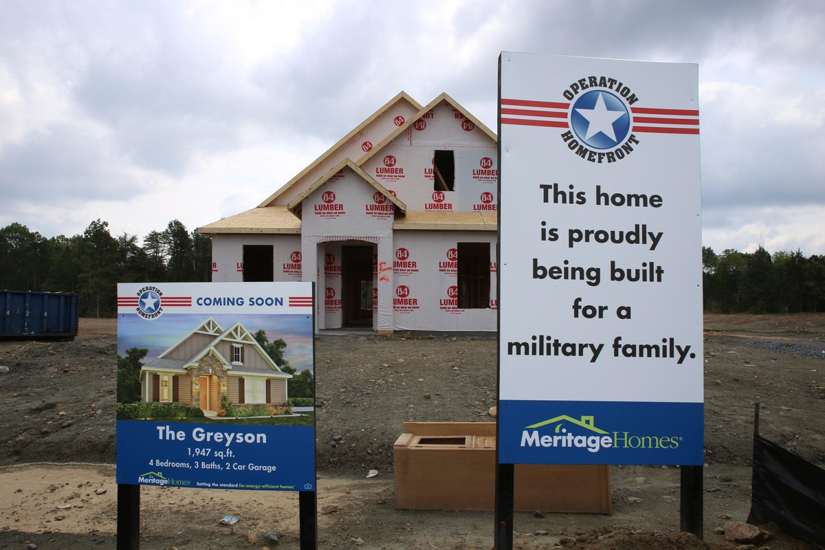 Thanks to our partnership with @Op_Homefront, this beautiful Charlotte home is now under construction! #MeritageHomes http://t.co/6HuTGVynqB