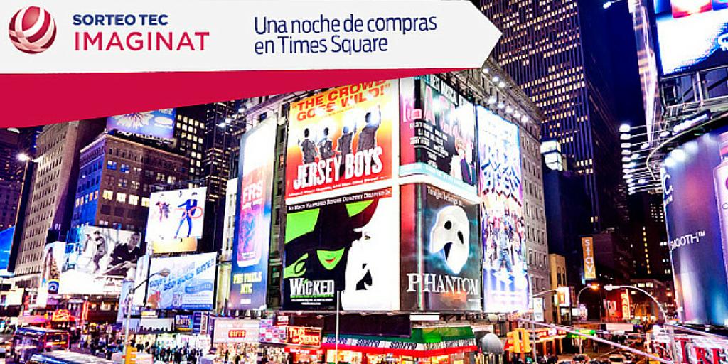 Siendo el ganador del 2ndo premio viaja a New York, compra en las mejores tiendas y visita Broadway.✈️🎭🎊 http://t.co/qhTAJQvaCx