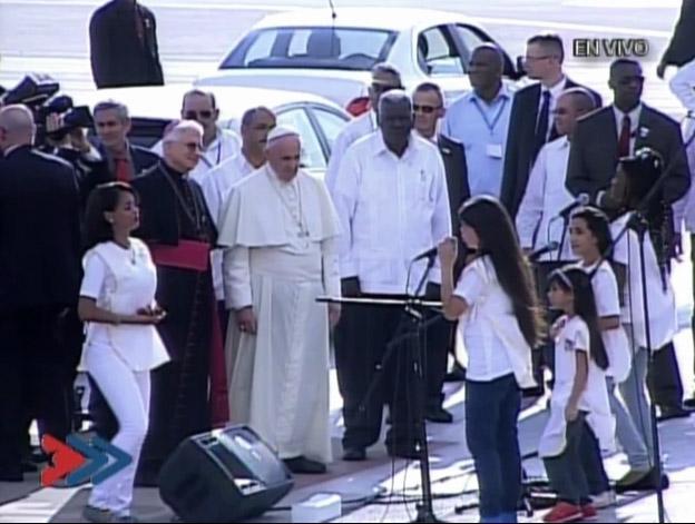 Santiago de Cuba recibe al Papa Francisco