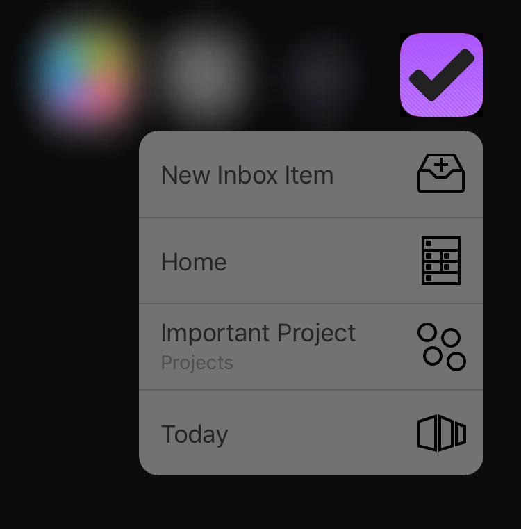 """Really looking forward to shipping 3D Touch """"quick action"""" shortcuts in @OmniFocus and our other apps: http://t.co/aBncAL2r3u"""