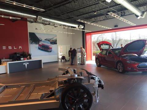 Tesla owings mills
