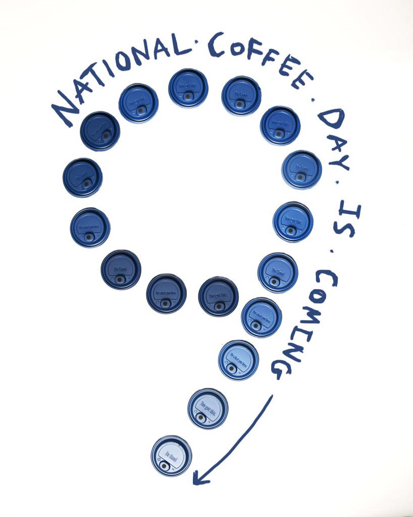 It's coming! 9 stamps on any large drink at @DutchBros! 9.29.15 #nationalcoffeeday http://t.co/0I54em1xVs