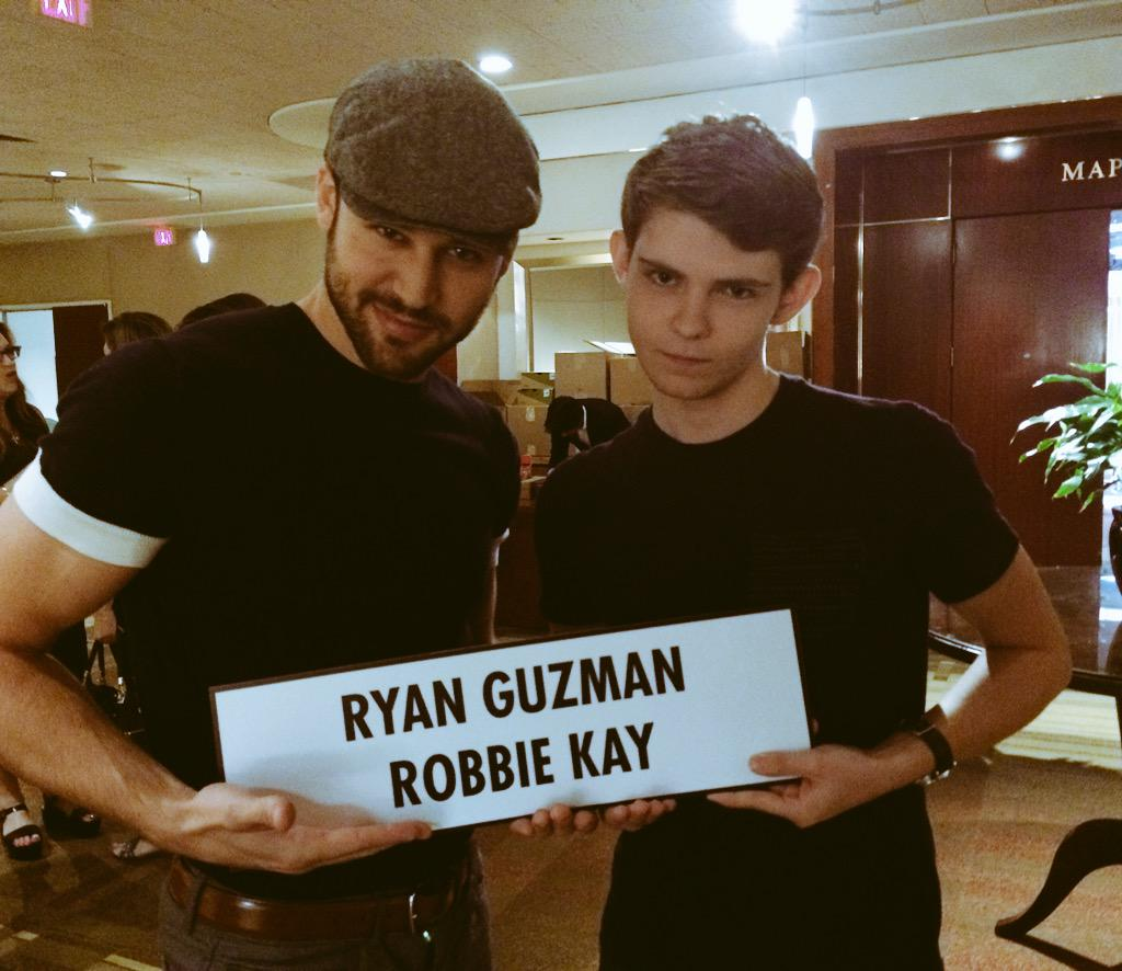 "Robbie Kay on Twitter: ""Happy birthday @ryanAguzman, keep ..."