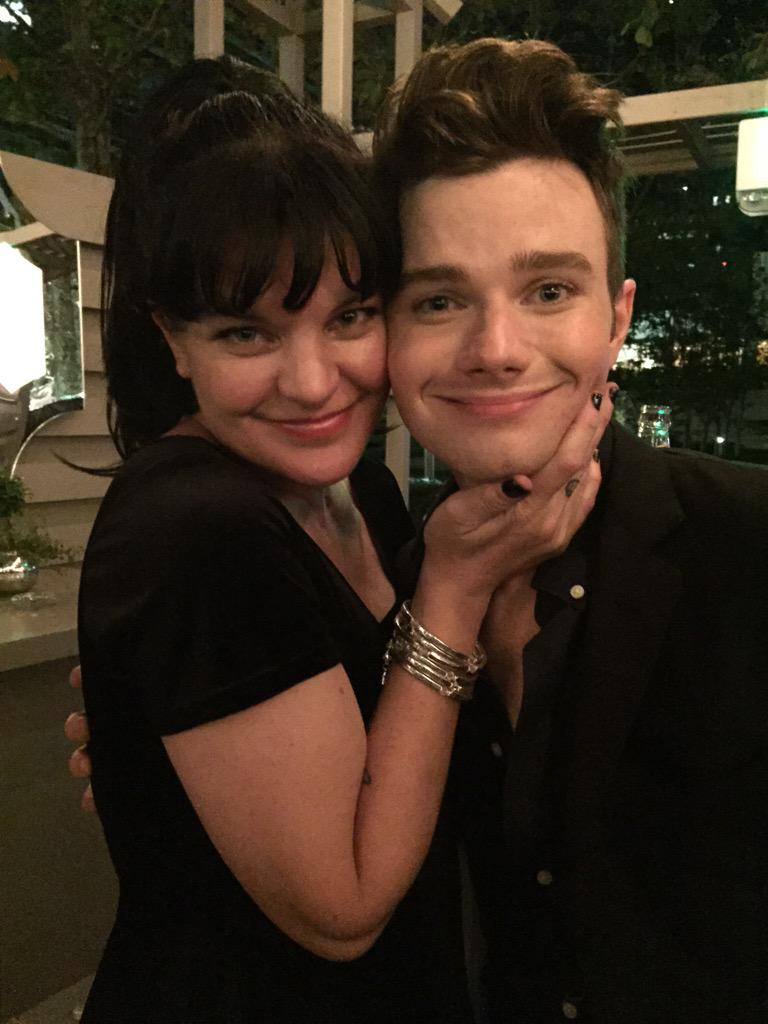 My darling pal @ChrisColfer and I decided he's my actually my little brother. :) http://t.co/JxGhimKThl