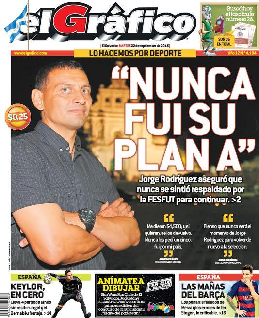 """Jorge """"Zarco"""" Rodriguez a espera de acuerdo entre FESFUT y A.D. Isidro Metapan para Seguir en La Seleccion Nacional.[""""Zarco"""" Rodriguez no acepto contrato de FESFUT] CPeqHJ7VAAALUa4"""