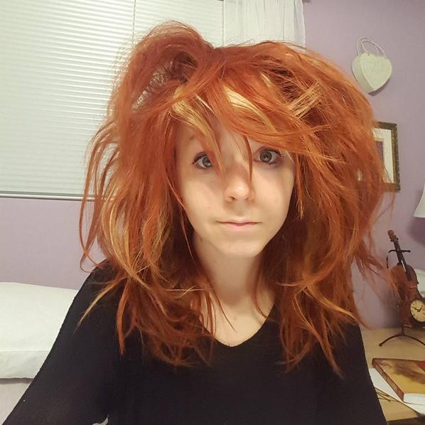 Lindsey Stirling Hair Back