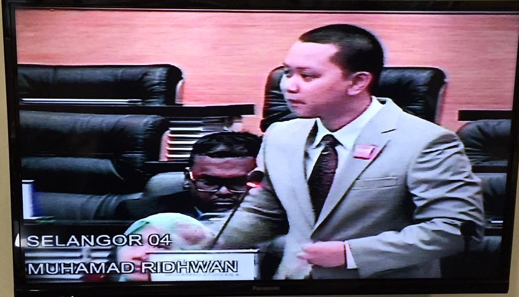 Parlimen belia sidang III 2015 Muhamad Ridhwan bawa usul regulasi VAPE @MYparlimenbelia http://t.co/KAmZdLEtjd