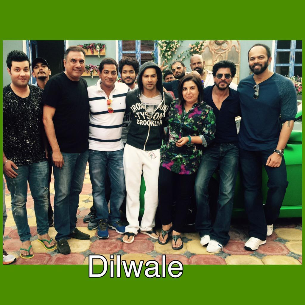 Новый фильм Рохита Шетти и Шах Рукха Кхана - Dilwale )) - Страница 4 CPfW8DvUkAAS8RQ