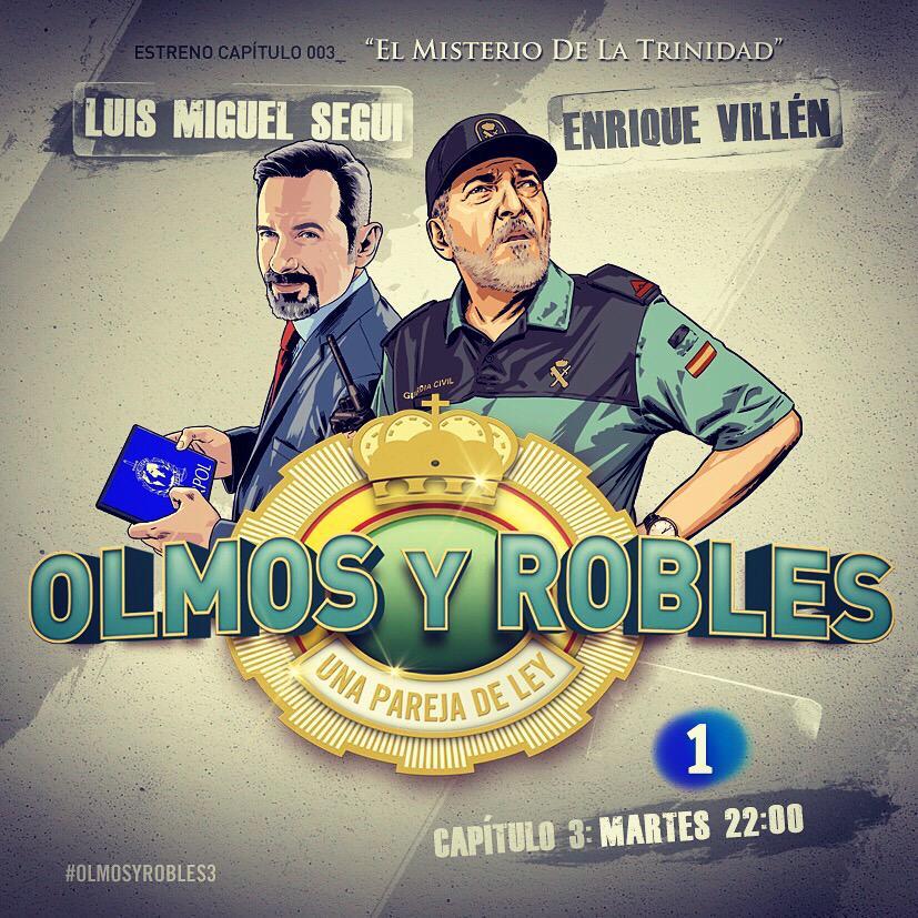 """#olmosyrobles hoy a las 22:00 """"El Misterio de la Trinidad"""" @RubenCortadaS @PepeViyuelactor @ana_morgade @LuisMiSegui http://t.co/a8Nj9OehnZ"""