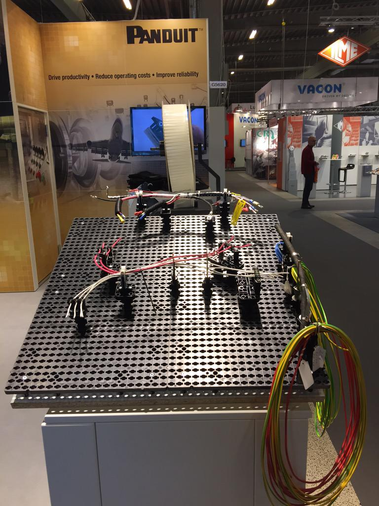 Panduit Emea On Twitter Visit Us Stand G5620 Hiindustri To. Panduit Emea On Twitter Visit Us Stand G5620 Hiindustri To See Our New Innovative Quickbuild Wire Harness Board System Oem Tcorgjvzdon0b. Wiring. Wiring Harness Board At Eloancard.info