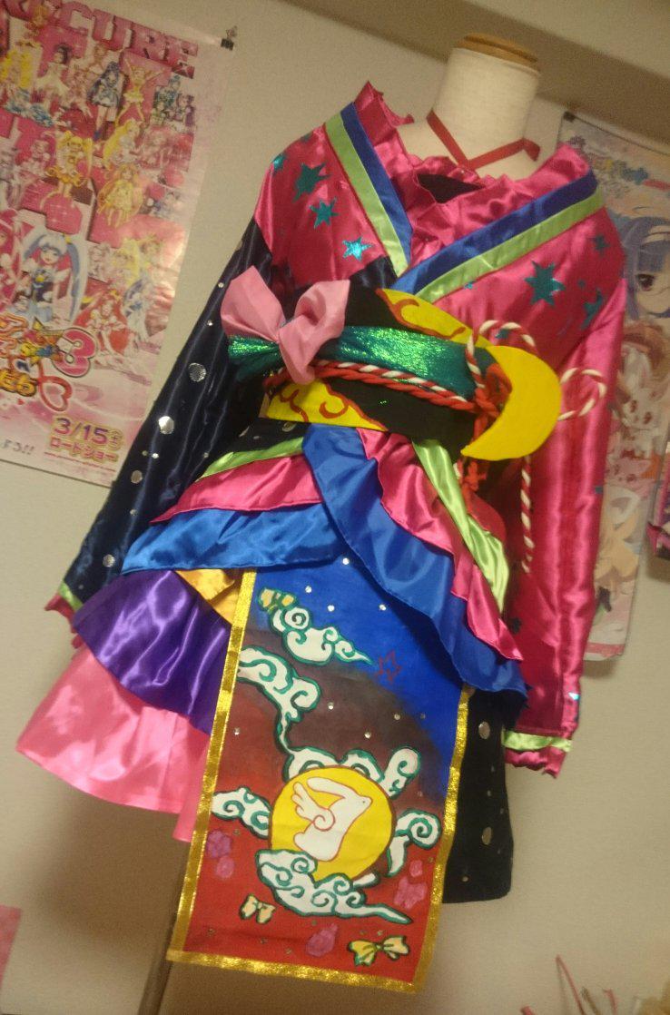 昨日のSHT初出ですが一番好きな衣装のドラマティカルムーンコーデ作りました('-'*) #pripara http://t.co/b79V59KiXD