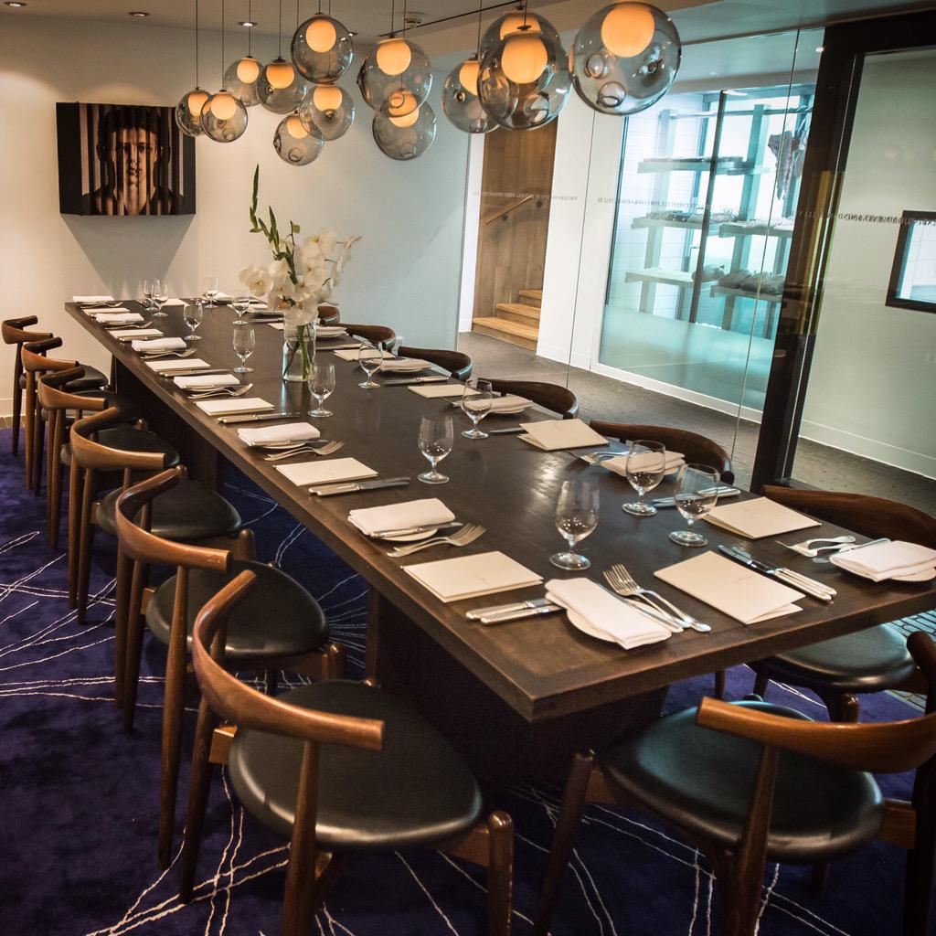 """Private Dining Room Set: Pollen Street Social On Twitter: """"Our Beautiful Private"""