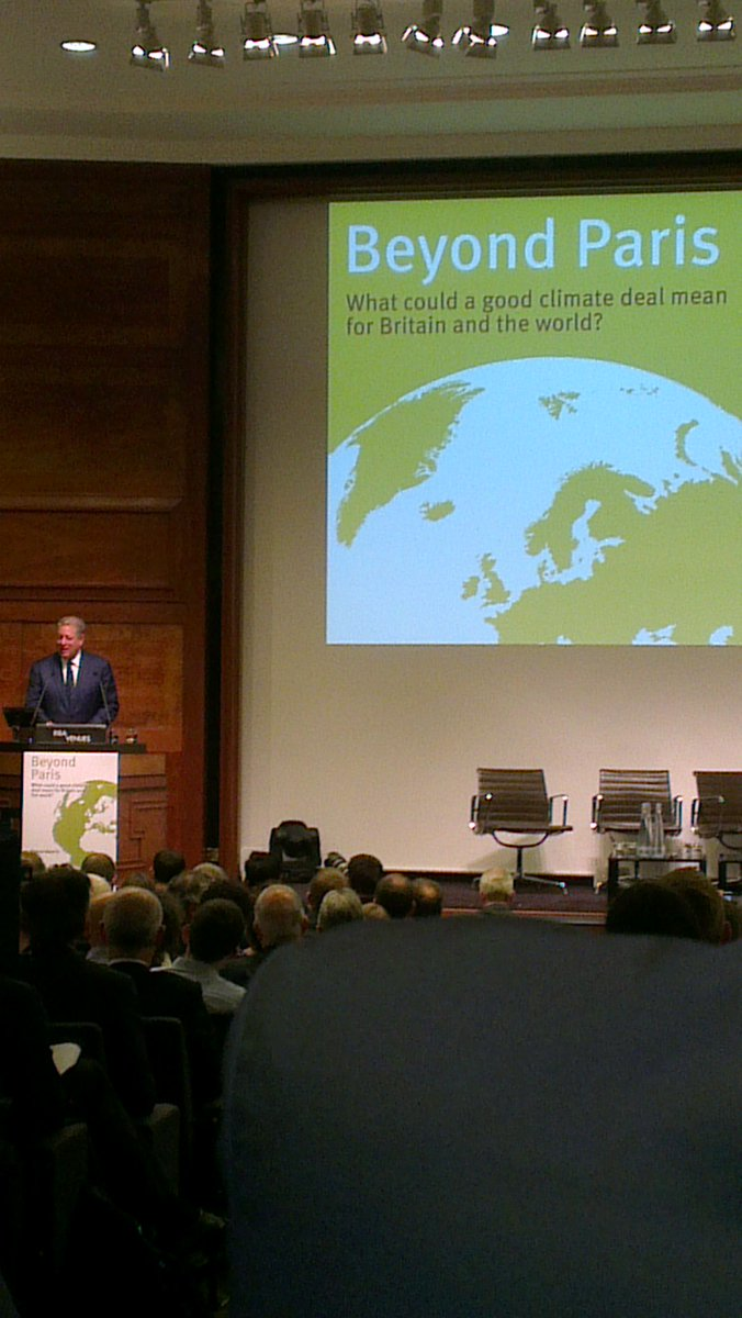 .@algore at #BeyondParis: compliments @GreenAllianceUK on taking leadership role #COP21 http://t.co/1hhfVfSBcL