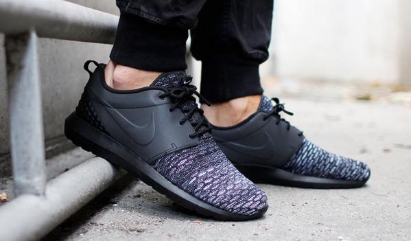 Nike Roshe One Flyknit Grau