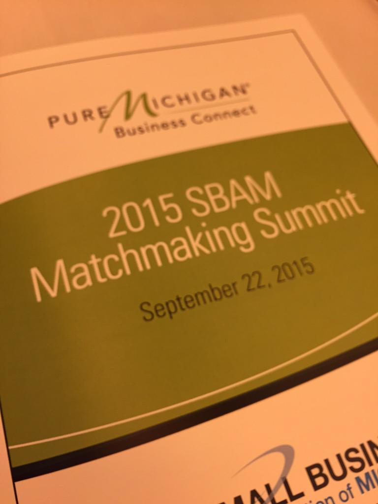 Sbam matchmaking summit
