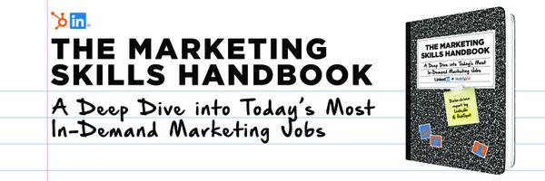 [NEW EBOOK] Marketing Skills Handbook- @LinkedIn & @HubSot analyze the most in-demand jobs http://t.co/uNyTyxp8Ld http://t.co/dlBZ0IeIkY
