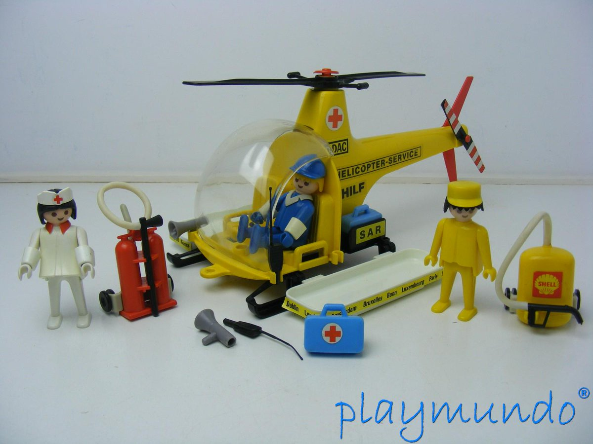 Playmundo on twitter playmobil 3247 helicoptero de for Helicoptero playmobil