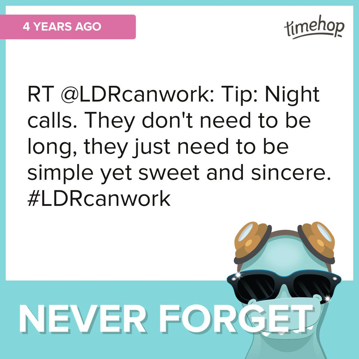 Never forget #timehop @LDRcanwork http://t.co/o30IuQgGXR http://t.co/44sP2k5DOc