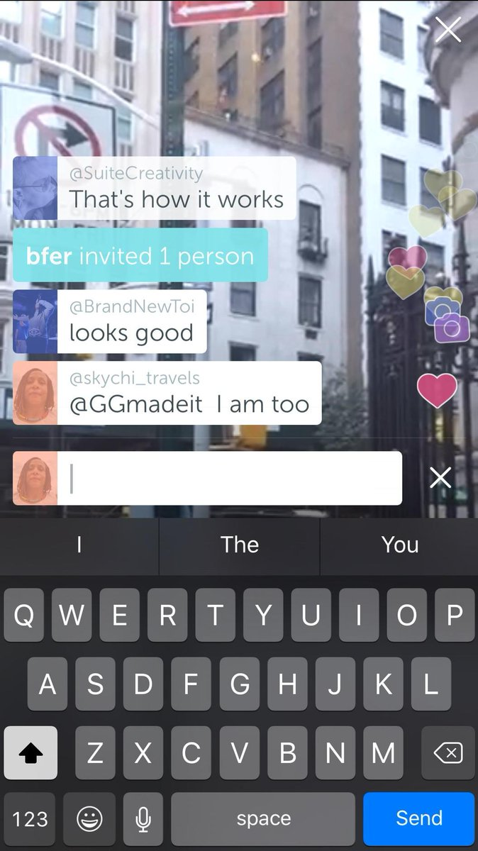 Watching LIVE on #Periscope: Wow!!! The New Periscope Update Has Floating Cameras and Hearts… https://t.co/tPqoaowbBe http://t.co/U5rMIszNvS