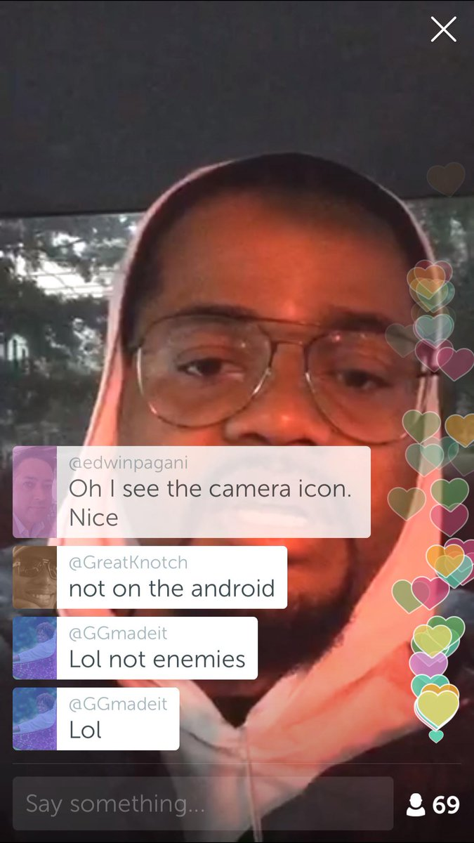 Watching LIVE on #Periscope: Wow!!! The New Periscope Update Has Floating Cameras and Hearts… https://t.co/tPqoaowbBe http://t.co/8LHegBmmjp