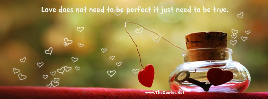 Love does not need to be perfect, it just needs to be true ... https://t.co/sHp7fkqw3w https://t.co/mfbj9udJCI #Love  #QuotesOfTheDay