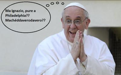 Il commento di Papa Francesco al viaggio del Sindaco di Roma.