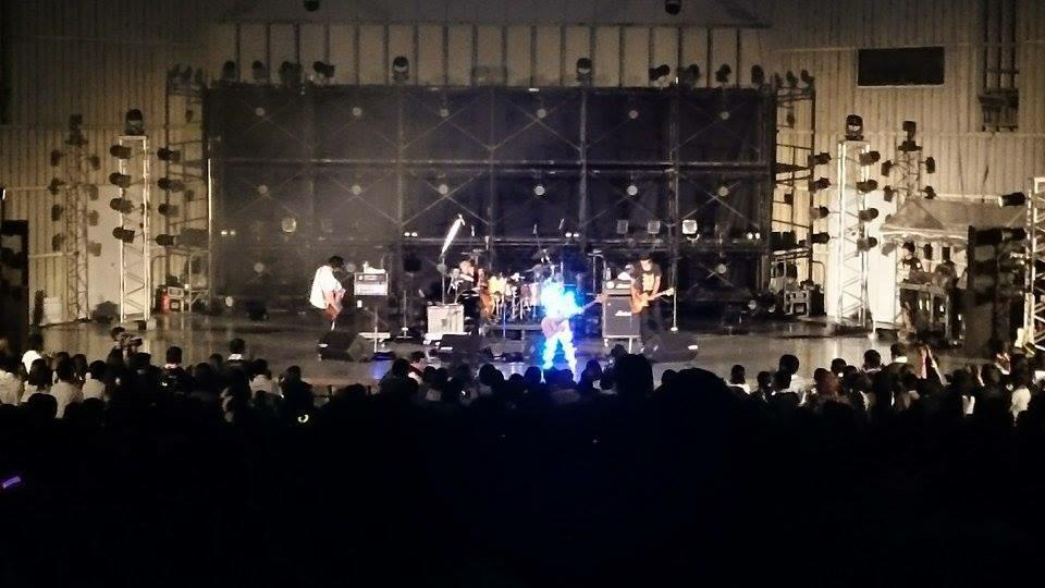 2015年9月22日、日比谷野外大音楽堂、LUNKHEADツアーファイナルワンマン みんなのおかげで とうとうG田は光になれました。 http://t.co/OZSy2NPIlg