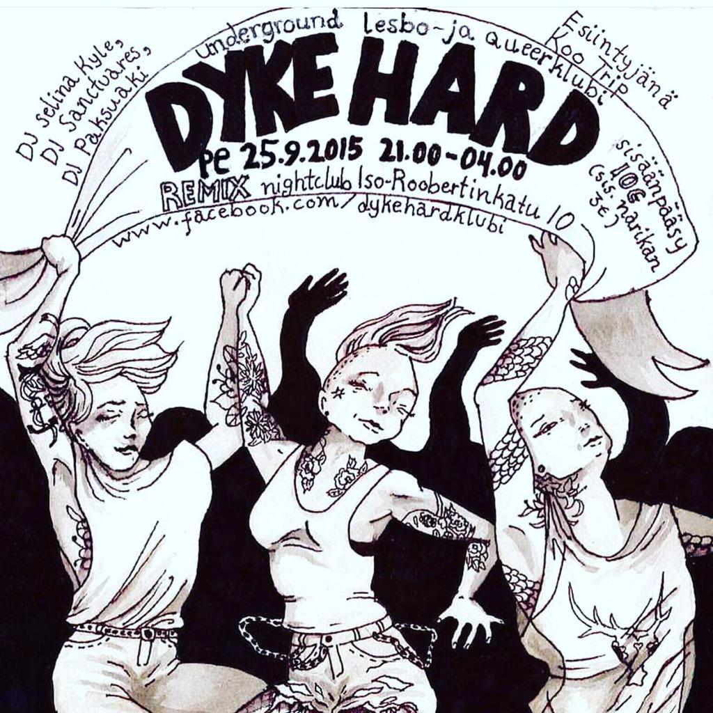 Musta lesbo Dyke
