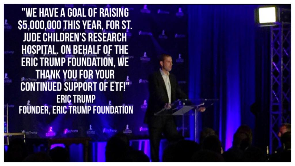 On behalf of everyone at #ETF, we THANK YOU for your continued support of our mission! #TeamETF @StJude http://t.co/q7GsuJnrya