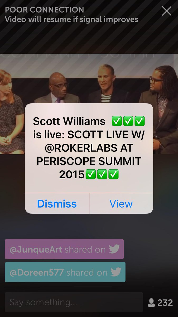 Watching LIVE on #Periscope: Periscope summit intro with @alroker https://t.co/LoxJllUh0M http://t.co/5ukTzW2WOA