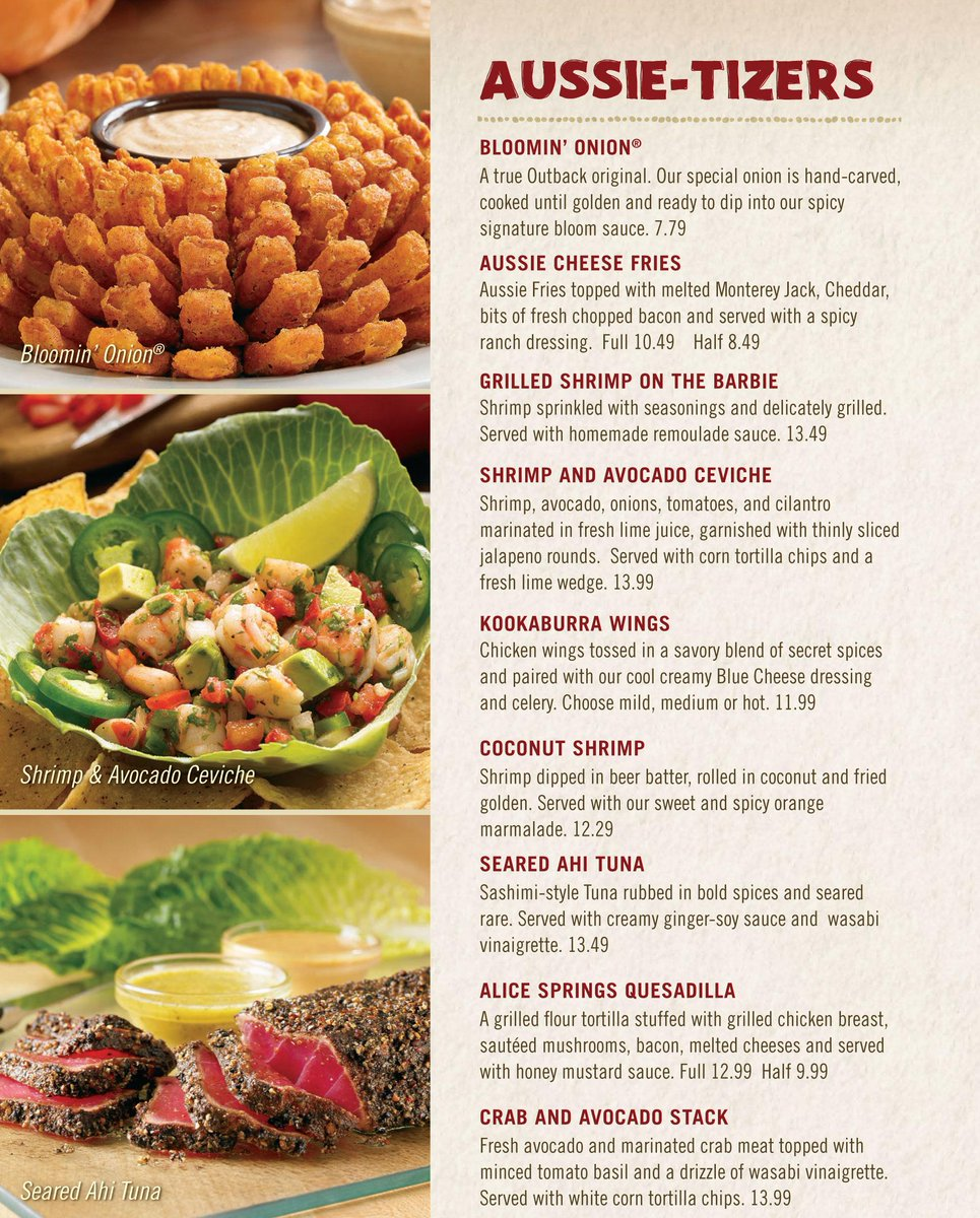 Outback Nutrition Wings Nutritionwalls