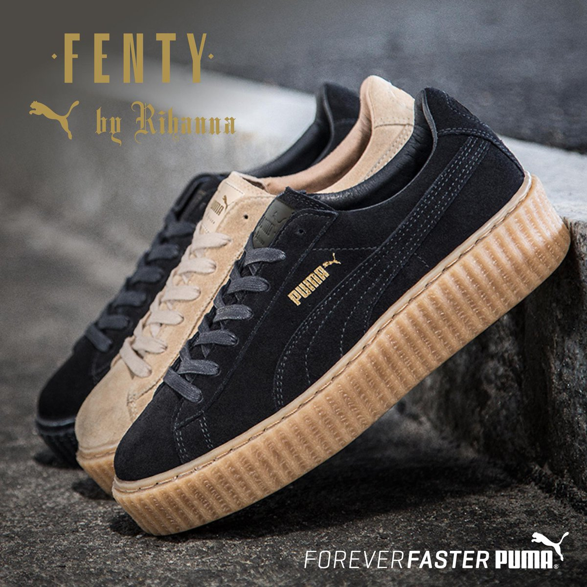 rihanna puma shoes foot locker