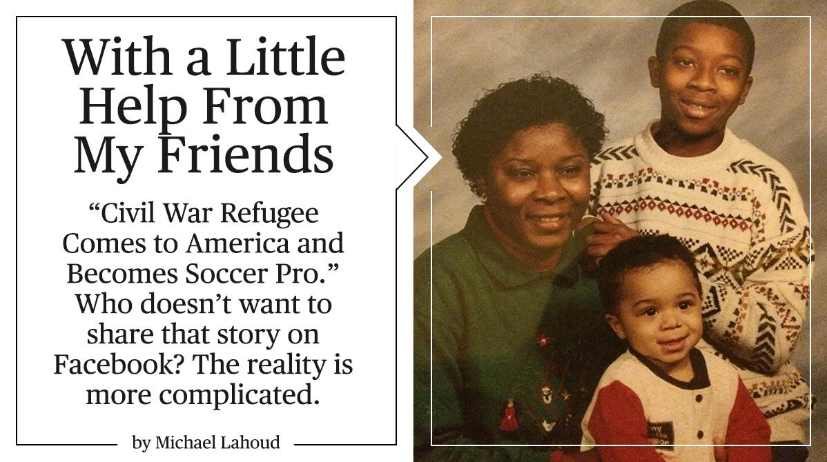 Thanks @PlayersTribune for  sharing my complicated journey from Sierra Leone refugee to @MLS . http://t.co/rvZYWhBUmU http://t.co/SzeoSLAHes
