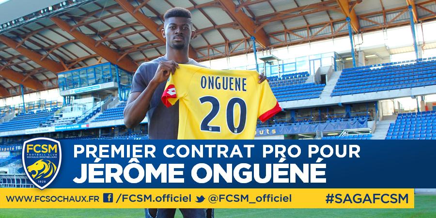 Sochaux : Contrat professionnel pour Onguéné !