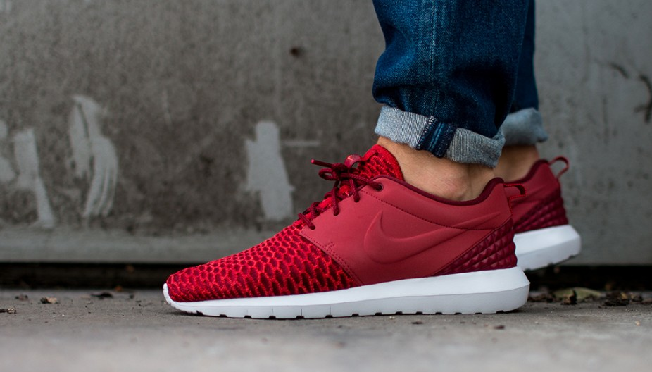 Nike Roshe One Flyknit PRM 3M Red White