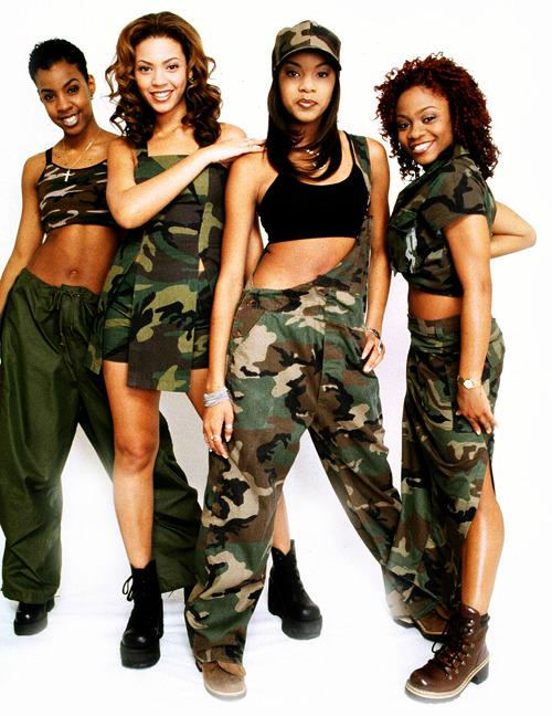 Destiny Fashion: Destiny's Child: Five Songs From Destiny's Child That We